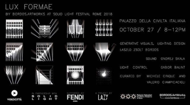 Solid Light Festival – Rome 2018
